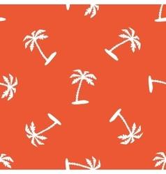 Orange vacation pattern vector image