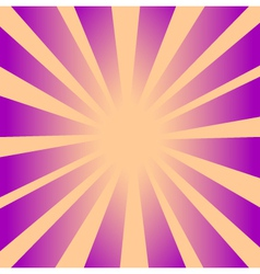 Retro Rays Background 2 vector image