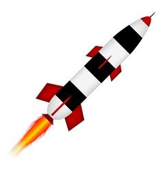 Start rocket vector image