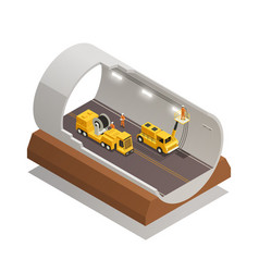 Tunnel construction composition vector