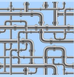 water pipe seamless vector image