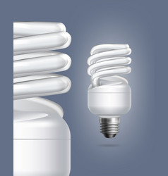 fluorescent lamps vector image vector image