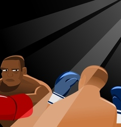 In The Ring vector image vector image