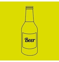 fresh beer design vector image vector image