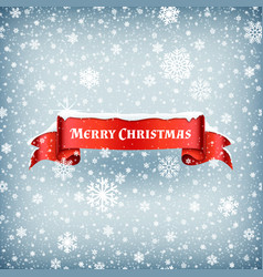 merry christmas celebration background with vector image vector image