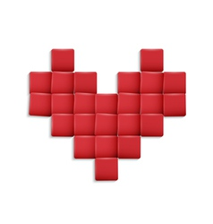 3d Heart vector image