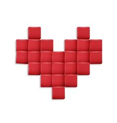 3d Heart vector