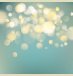 Abstract warm background with orange blur bokeh vector