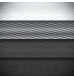 Background four carbon fiber patterns vector