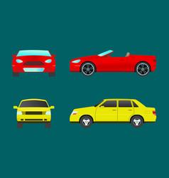 car vehicle transport type design travel race vector image