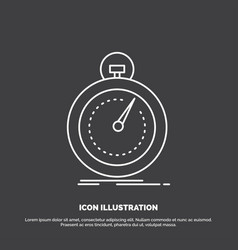 Done fast optimization speed sport icon line vector
