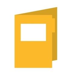 Folder isolated icon design vector