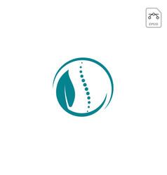 Leaf healt care logo inspiration icon isolated vector