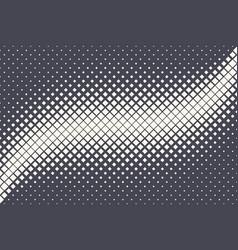 Rhombus halftone pattern geometric technology vector