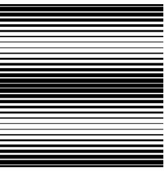 Simple striped pattern black and white vector