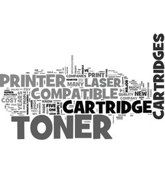 why most people pay double for laser toner vector image vector image