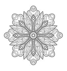 mandala05 vector image vector image