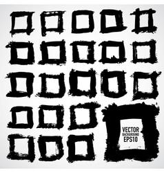 Set of grunge frames Grunge background vector image vector image