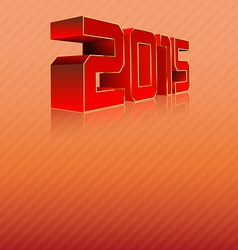 2015 3D vector image