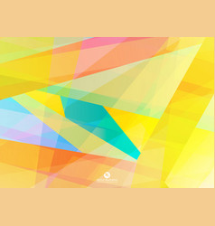 colourful background eps 10 vector image