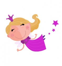 fairy princess vector image