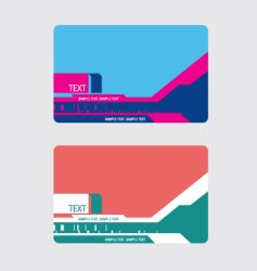 graphic card vector image