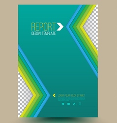 Modern abstract brochure Book cover vector