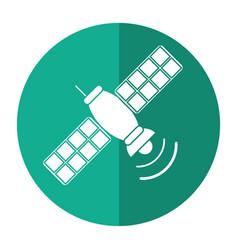 Satellite telecommunication transmitter signal vector