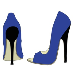 Shoes and Fashion vector