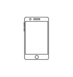 smartphone digital device icon image vector image