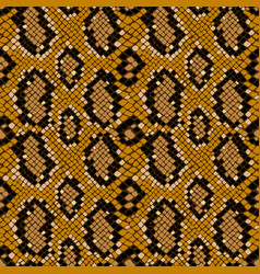 Snake skin seamless pattern texture background vector