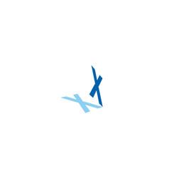 x-logo vector image