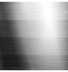 Brushed metal texture vector image vector image