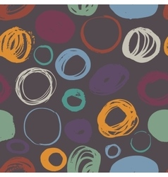 Seamless brush strokes vector image vector image
