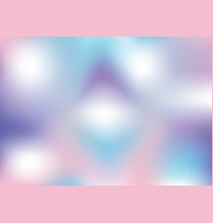 abstract holographic background with pastel colors vector image