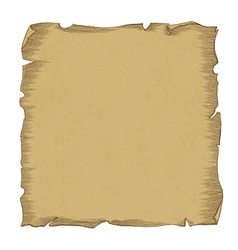 aged scroll paper vector image
