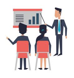 Business teamwork meeting vector
