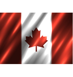 Canada national flag background vector