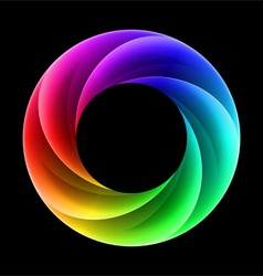 Colorful ring vector