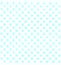 cyan star pattern seamless vector image