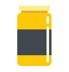 medicine flat drug isolated on white background vector image