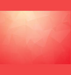 modern bright red triangular transition vector image