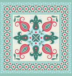 ornamental tile vector image