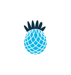 pineapple icon colored symbol premium quality vector image