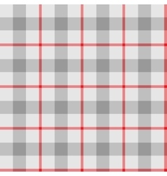 Seamless pattern Scottish cage vector image