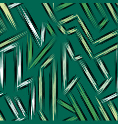 thin color lines on a green background seamless vector image