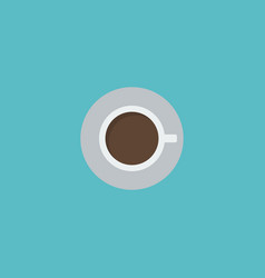 flat icon cup element of flat vector image vector image