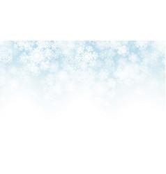 3d falling snow effect vector