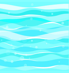 abstract blue waves pattern seamless pattern vector image