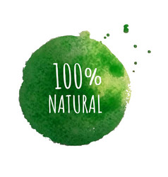 Eco label isolated vector
